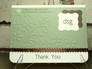 FMG Thank You Card