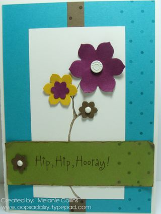 Hip Hip Hooray Card