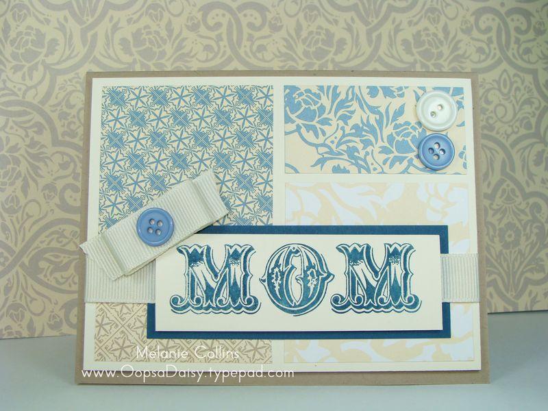 April Blog Hop Mother's Day Card
