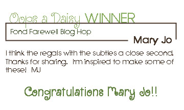 June Blog Candy Winner